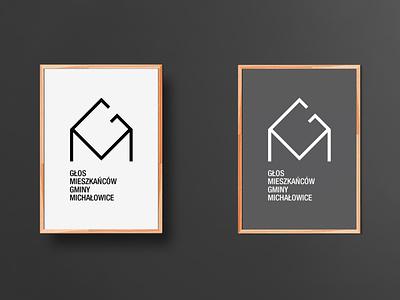 Głos Mieszkańców Gminy Michałowice logo vote g and m letters g and m letters