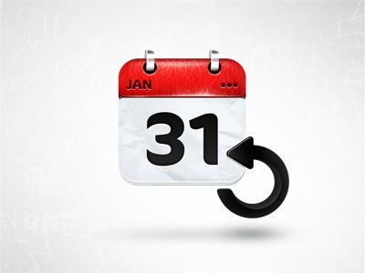 Recurring Event recurring calendar event icon illustration