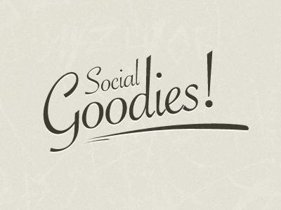 Social Goodies free social icons