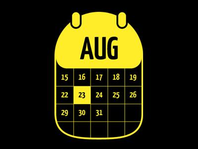 Calendar Icon calendar mono icon glyph