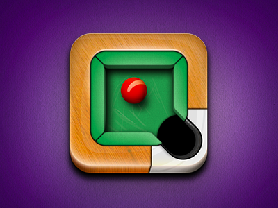 Snooker Icon icon illustration snooker table