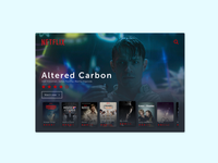 Daily UI - TV app