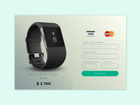 Daily UI - Credit Card Checkout
