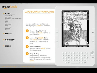 Kindle Flash Instructions by Michael Durwin | Dribbble