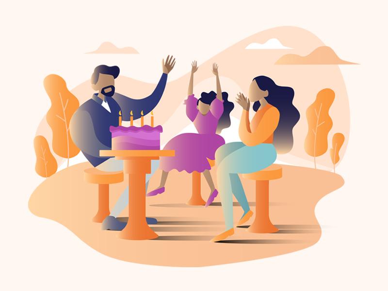 Illustration Design for an experiences based marketplace website ux web web design startups startup branding india illustration art ui design vector illustration