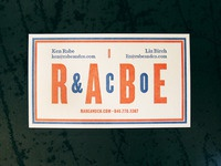 Rabe & Co Card