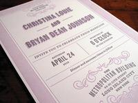 CL & BDJ Invite