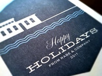 Rabe & Co Holiday Card