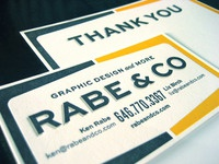 Rabe & Co Cards