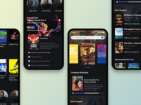 Ebooks (Dark Theme) - New Concept