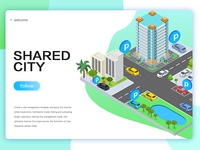 Shared city cars