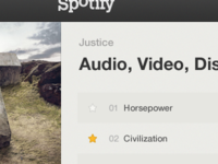 Spotify Redesign #01