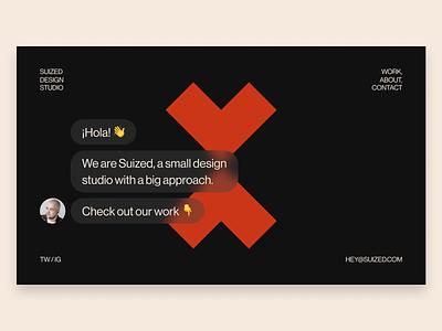 Portfolio Test #32 suized studio portfolio design
