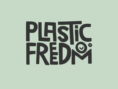 Plastic Freedom Logo Design