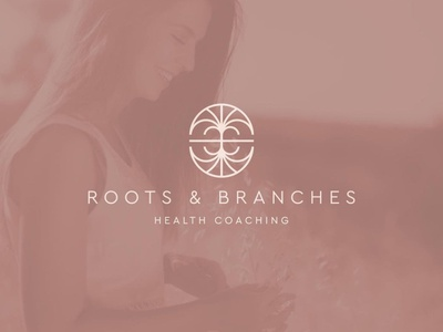 Roots & Branches Health Coaching sketchbook creative brand type brand direction identity logotype branding typography logo