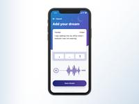 Dream journal app