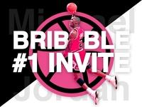 Michael Jordan 1 Dribbble Invite