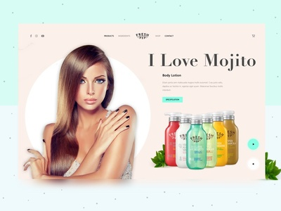 Fresh Pop - I Love Mojito Concept