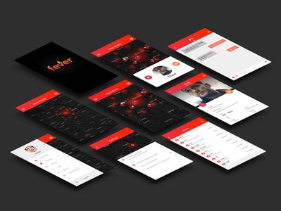 Fever App Screens