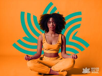 Good for the Soul logo mark icon vector design nutrition corporate identity identity branding logo wellness spiritual health