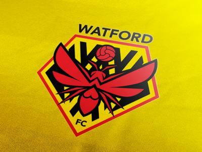 Watford FC logo rebrand 2019