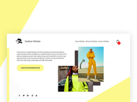 Fashion Website Starter Template