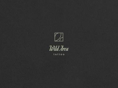 Logo Design // Wild Area vector logotype graphic design design typography minimal logo icon dailylogochallenge branding
