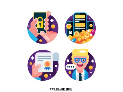 Flat Design Flat Design Business Icons Set vector graphic illustration illustraion illustrator graphic design icon design iconography icon set icons icon character design cartoon flat design character