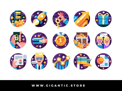 Flat Design Flat Design Business Icons Set Illustration business flat illustration flatdesign flat vector illustration vector art vector graphicdesign graphic design graphic branding design brand identity branding brand flat design icon design iconography icon set icons icon