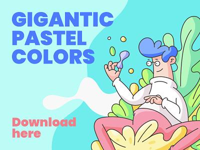 Amazing Pastel Colors ( Download Here ) pastels color pallet illustrator color palette pastel colours pastel colors pastel color pastel colors color