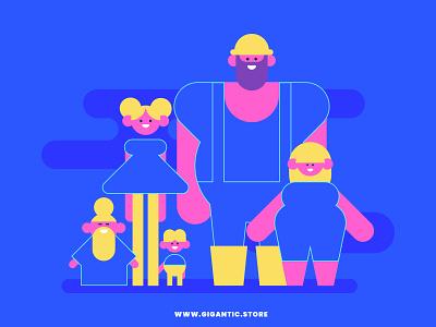 10 Animation Friendly Flat Design Geometric Characters minimalistic minimal simple character cartoon video explainer people illustration people motion graphic motion design animation character design illustration character flat design