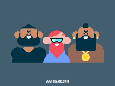 Flat Design Characters / Avatars Vector Illustration illustration drawing flat design creativity creative illustrator cartoon illustration cartoon character cartoons cartoon avatar icons avatar design avatars avatar character design characterdesign characters character