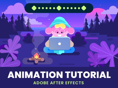 Chill lofi Animation Tutorial in After Effects - Background character illustration animated gif animated lofi chill background animation tutorial tutorial animation tutorial motion graphics motion graphic motiongraphics motion design animation after effects animation design animation 2d animations animation
