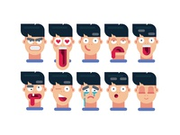 Learn how to draw 10 FACIAL EXPRESSIONS