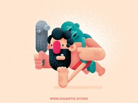 Caveman ( Gigantic Brushes )