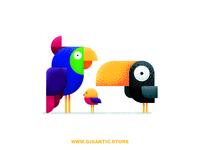 Flat Design Birds