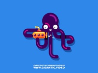 Learn to DRAW A OCTOPUS
