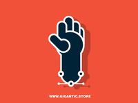 Flat Design Hand
