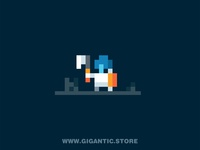 Pixel Art 2D Game Design Character