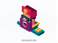 Isometric Character Illustration in Adobe Illustrator