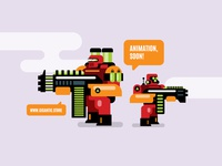 Game Design Characters Illustration