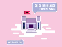 From Game Design Map, Flat Design Building