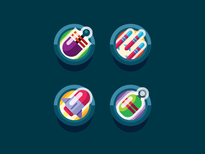 Icon Design For Game Art By Gigantic On Dribbble
