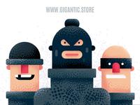 Flat Design Characters Illustration in Adobe Illustrator CC 2019