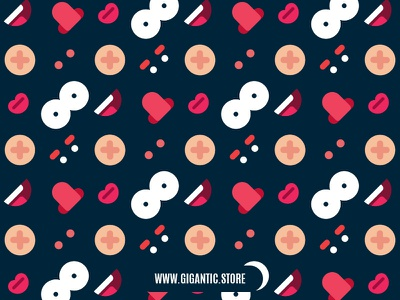 Pattern background from different parts of the face pattern design pattern art pattern background pattern background design background art background character design vector design illustration flat design character