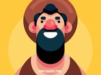 Flat Design Character Illustration In Adobe Illustrator CC