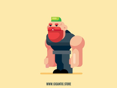 Flat Design Game Character Illustration In Adobe Illustrator CC