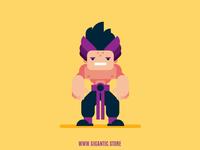 Flat Design Character Design Illustration