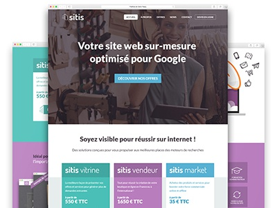 Sitis  ux ui website webdesign