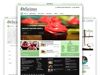 Delicious - Food and Drinks Template